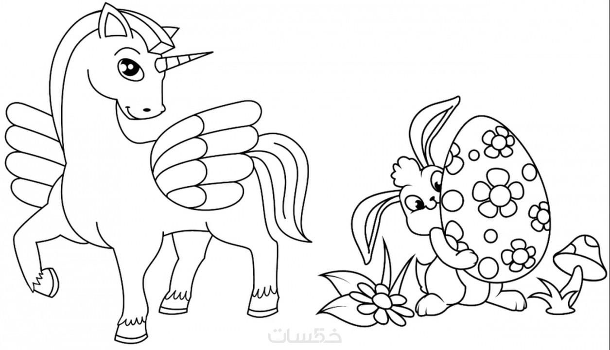 احصل على احلى صور رسومات للتلوين للاطفال قابلة للطباعة خمسات