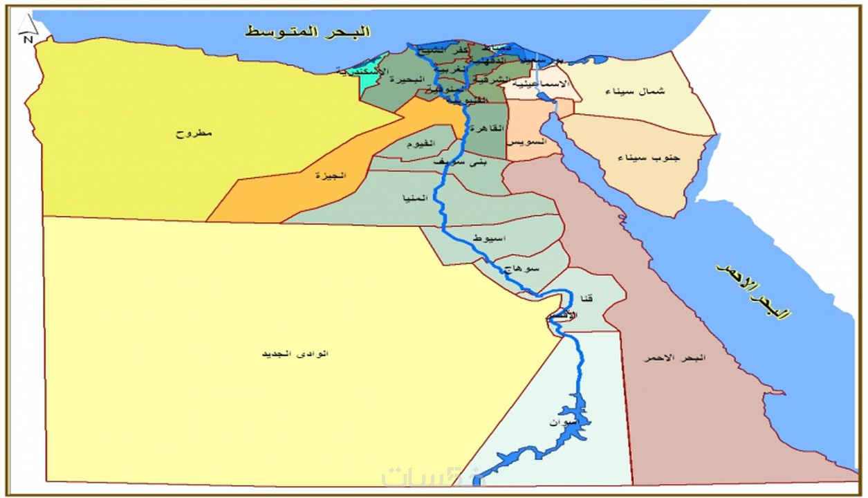 Mcit Maps Of Egypt