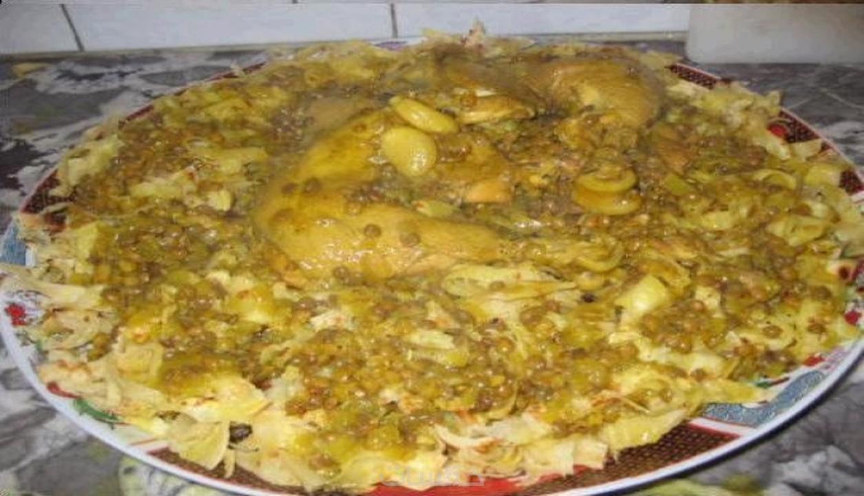 الطبخ المغربي-رفيسة مدهوسة خطوة خطوة رائعة