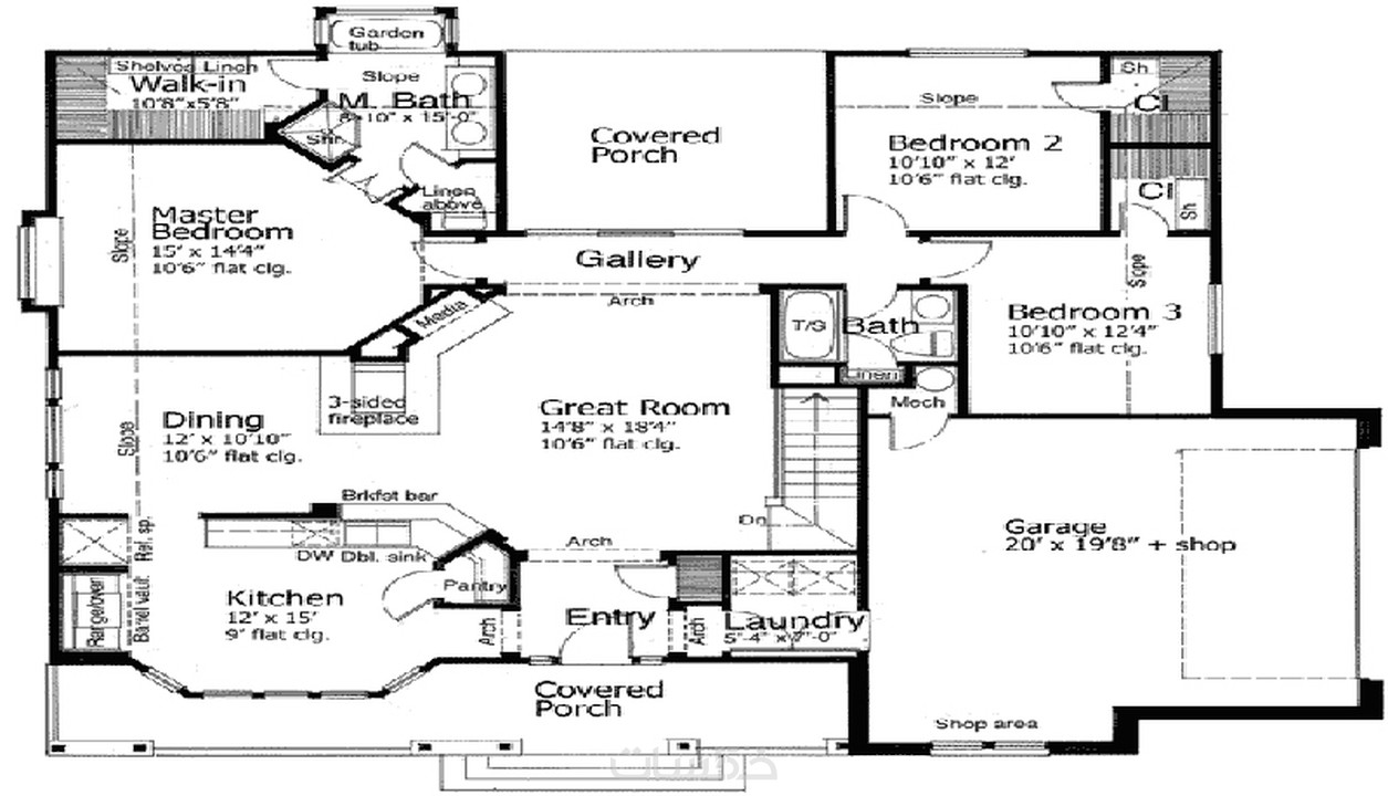 تصميم مخطط منزل في غاية الاحترافية باسخدام برنامج Autocad خمسات