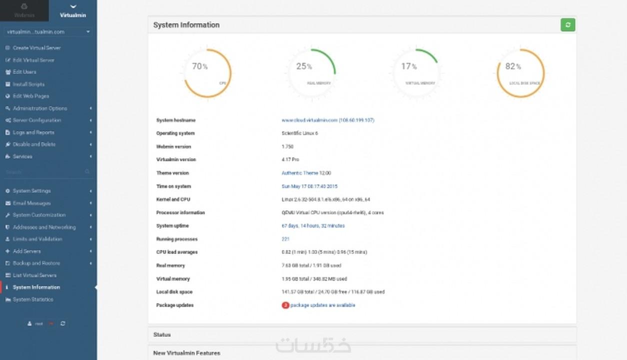 تثبيت Interspire, PowerMTA على سيرفر لينكس مع لوحة تحكم Vir