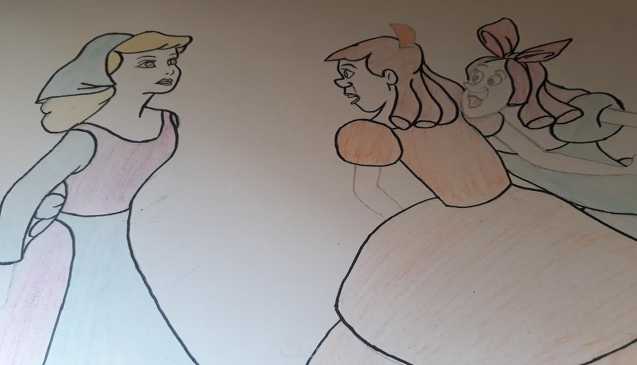 تعلم رسم شخصيات كرتونيه