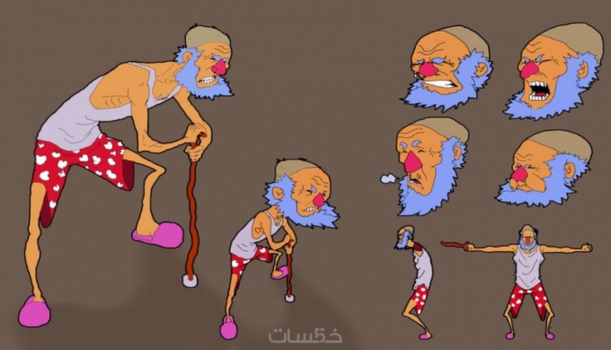 ارسم شخصية كرتونية ea862138ad7f75e46172