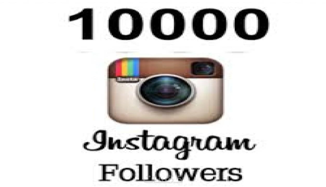 get 10000 instagram follower|الحصول على 10000متابع instagram - خمسات