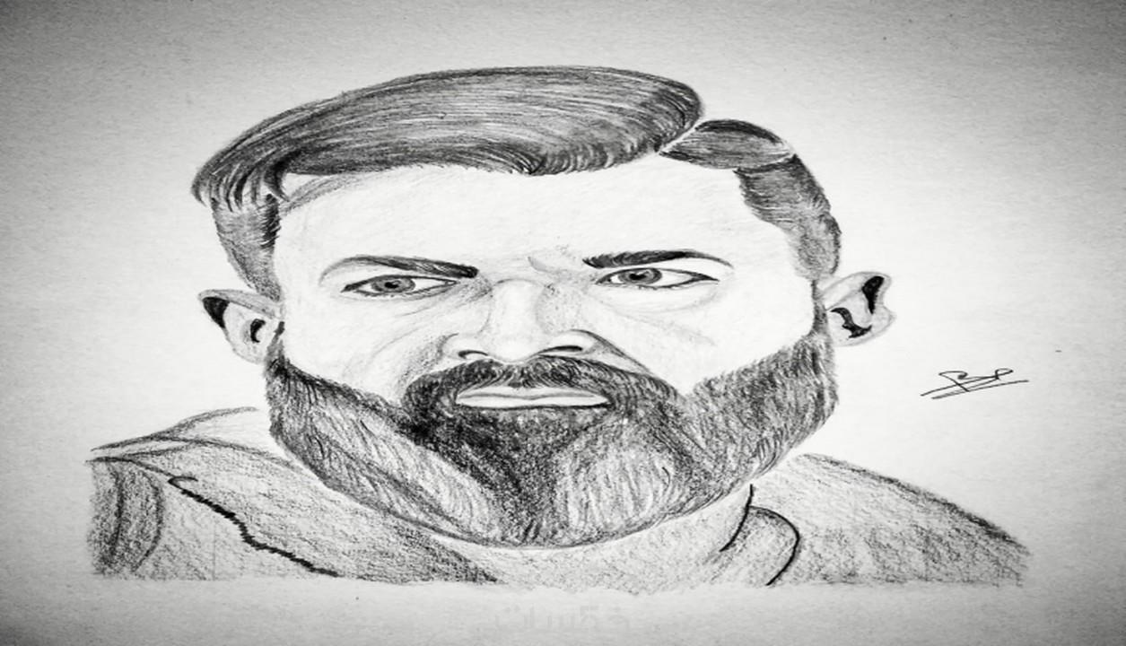 رسم بورتريه رصاص باحترافية خلال 6ساعات خمسات